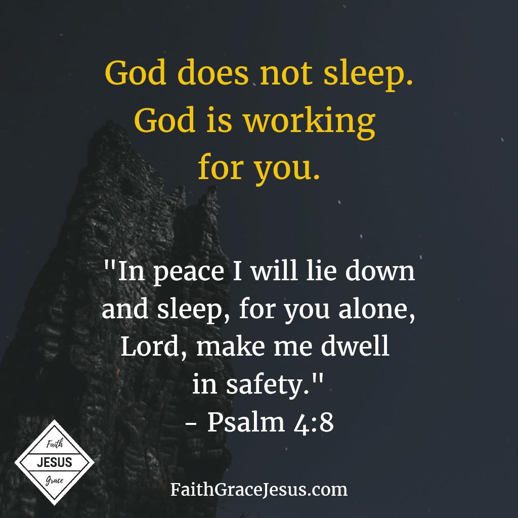 jesus help me sleep