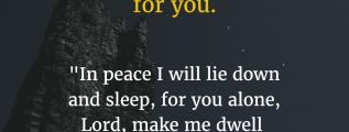 Psalm 4:8 Bible