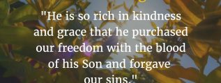Ephesians 1:7 Bible