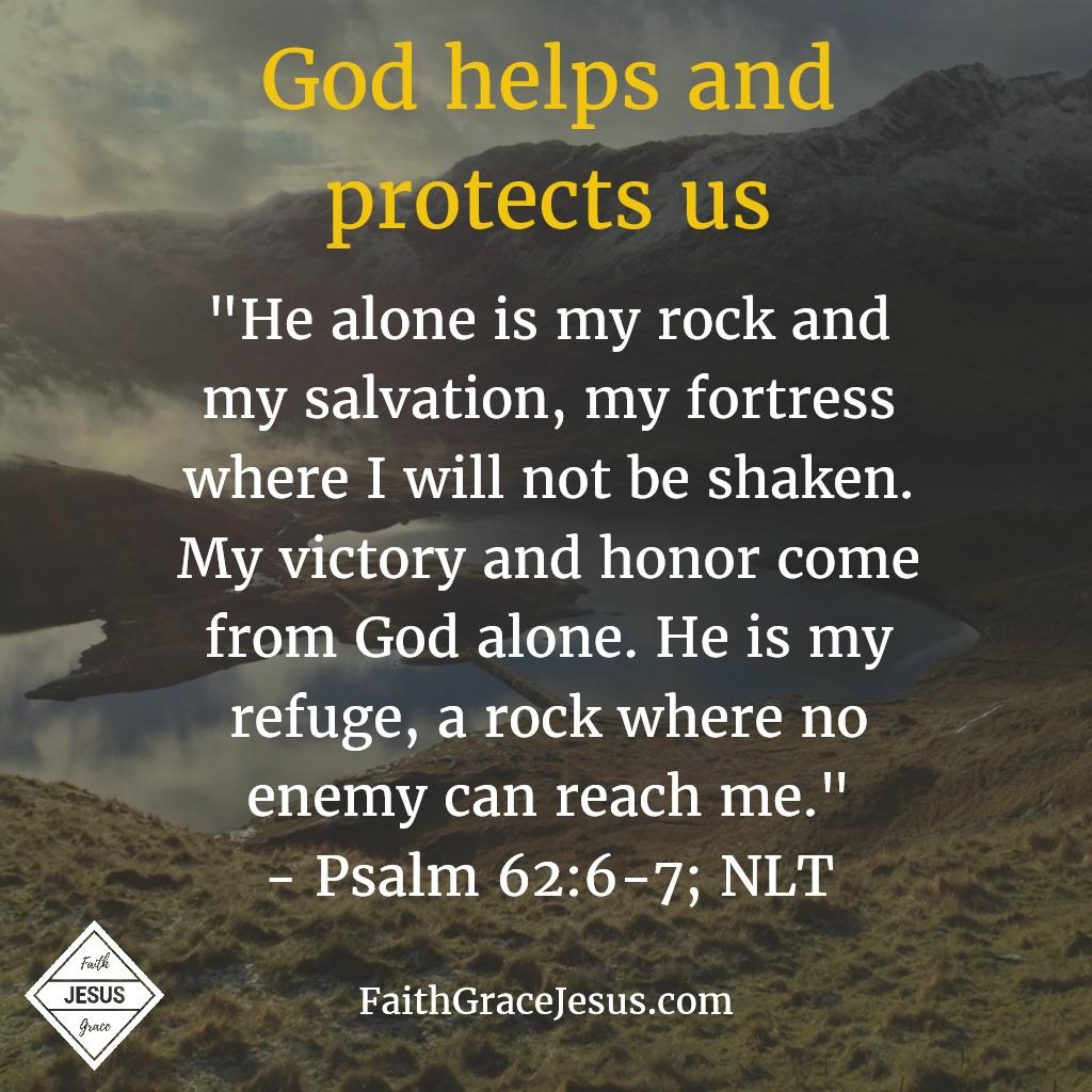 Psalm 62:6-7