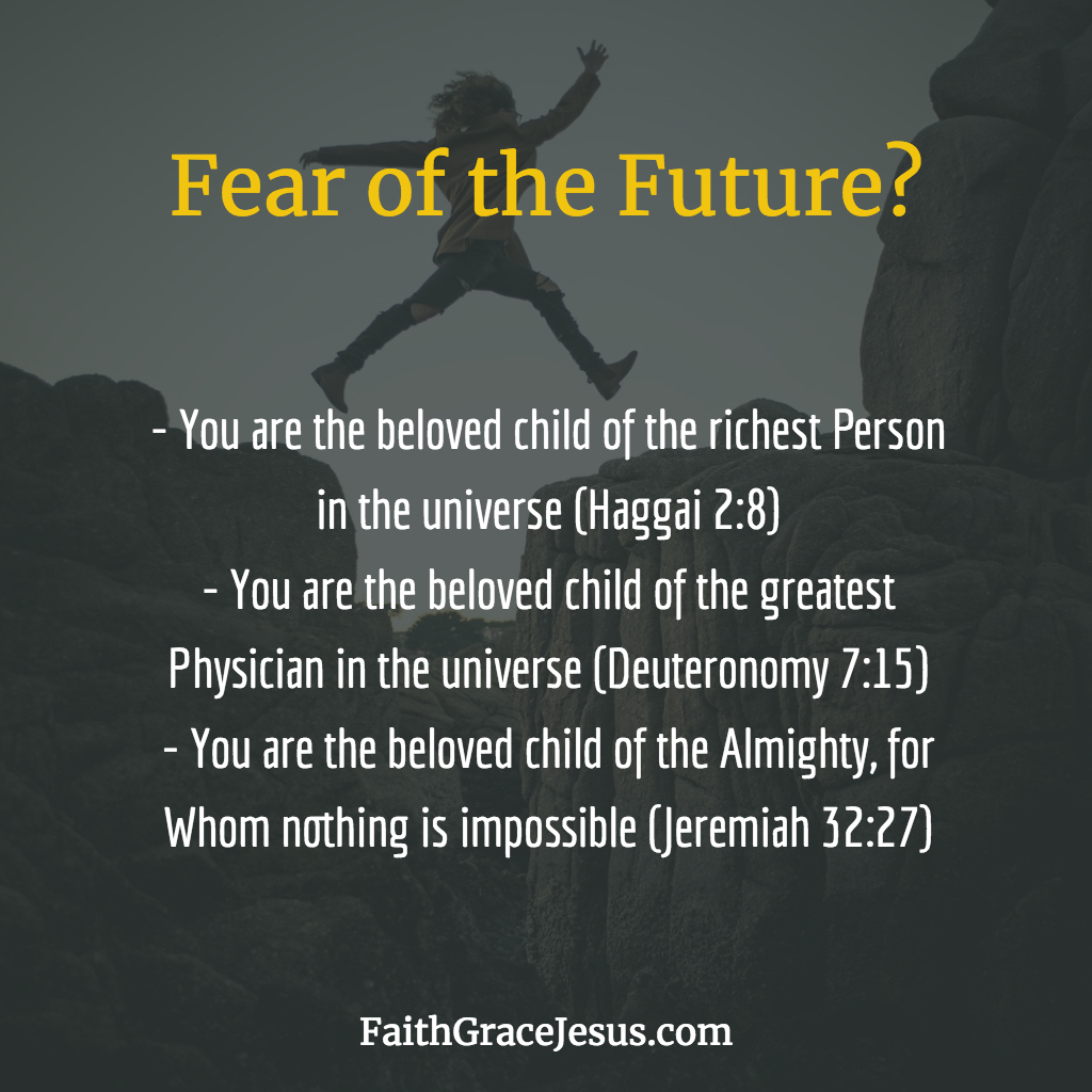 Fear of the Future? This is what the Bible says