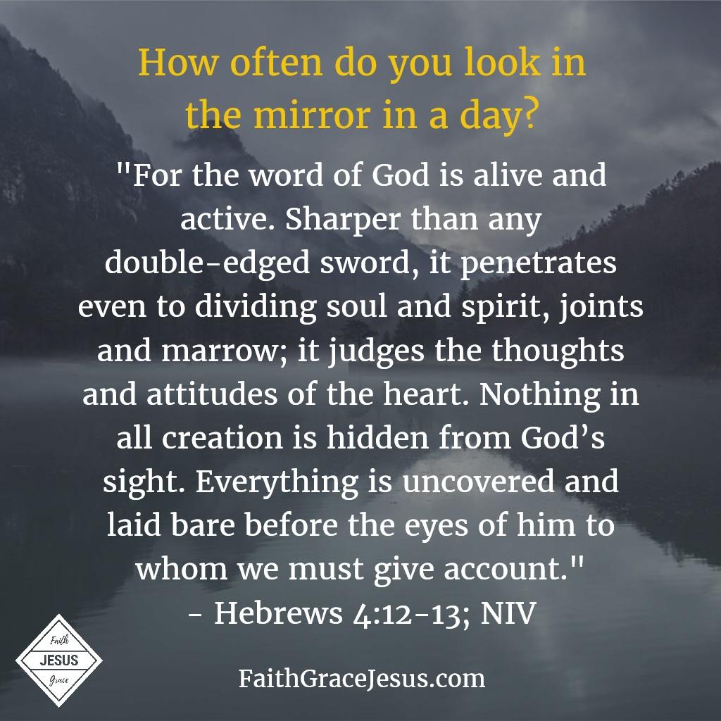 Hebrews 4:12-13