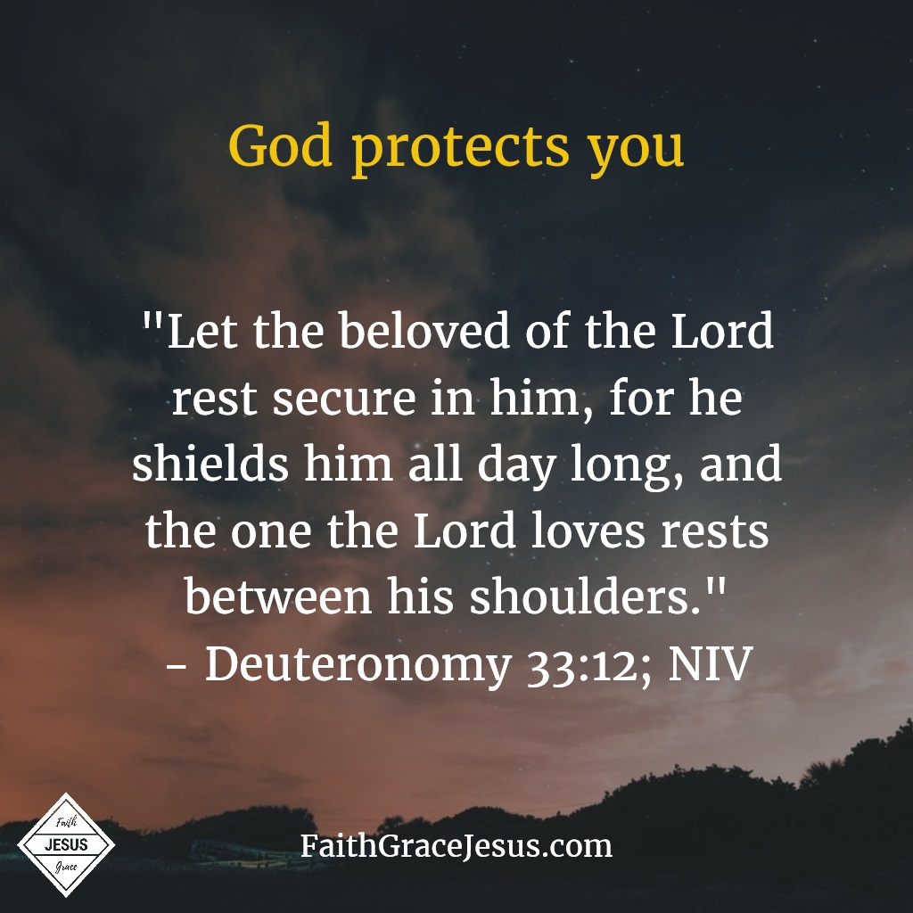 Deuteronomy 33:12; NIV