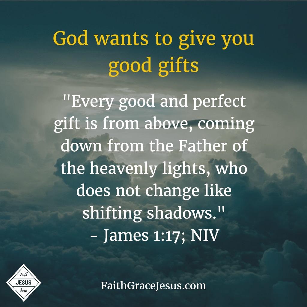 James 1:17; NIV