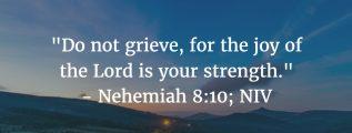 Nehemiah 8:10: Joy of the Lord