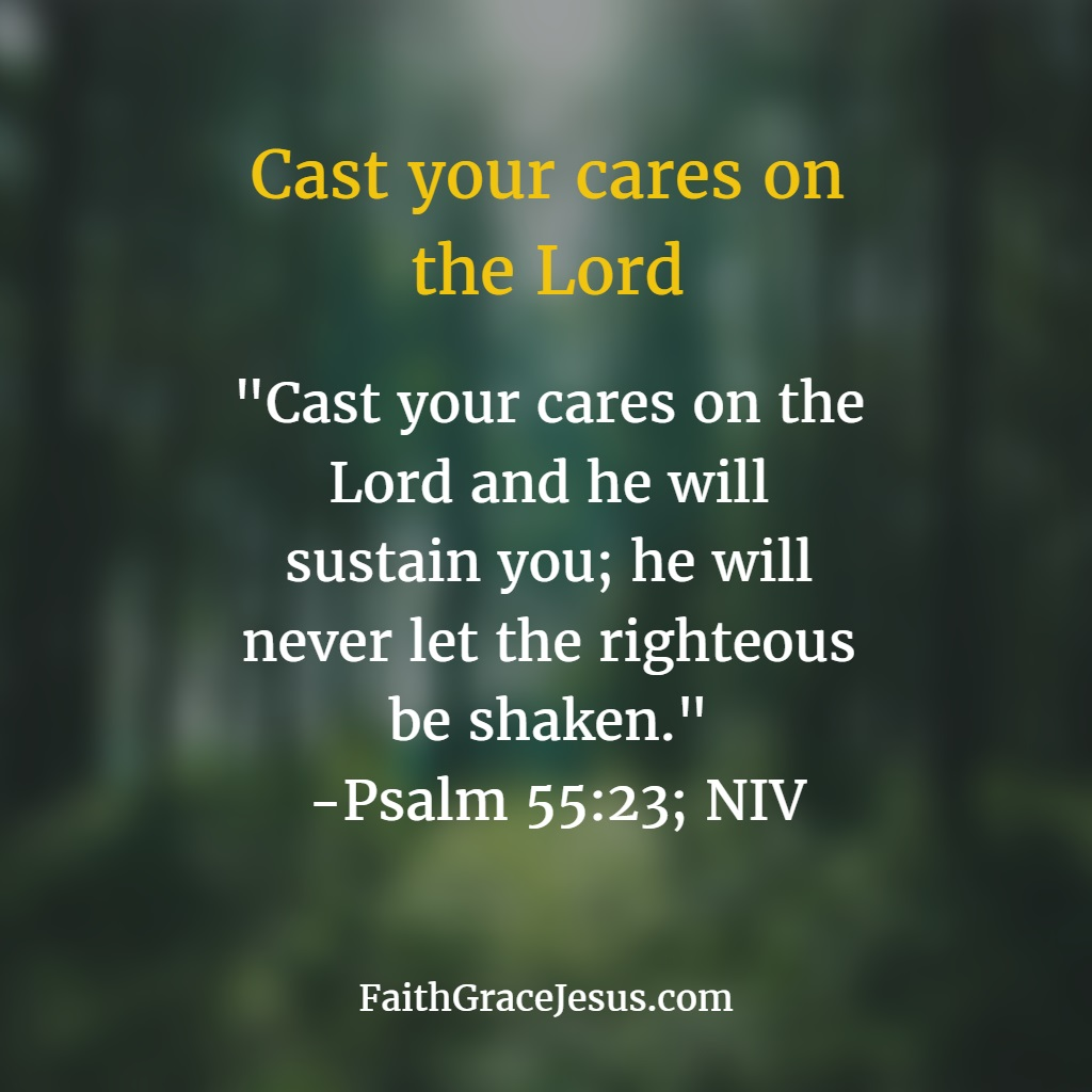 Psalm 55:23