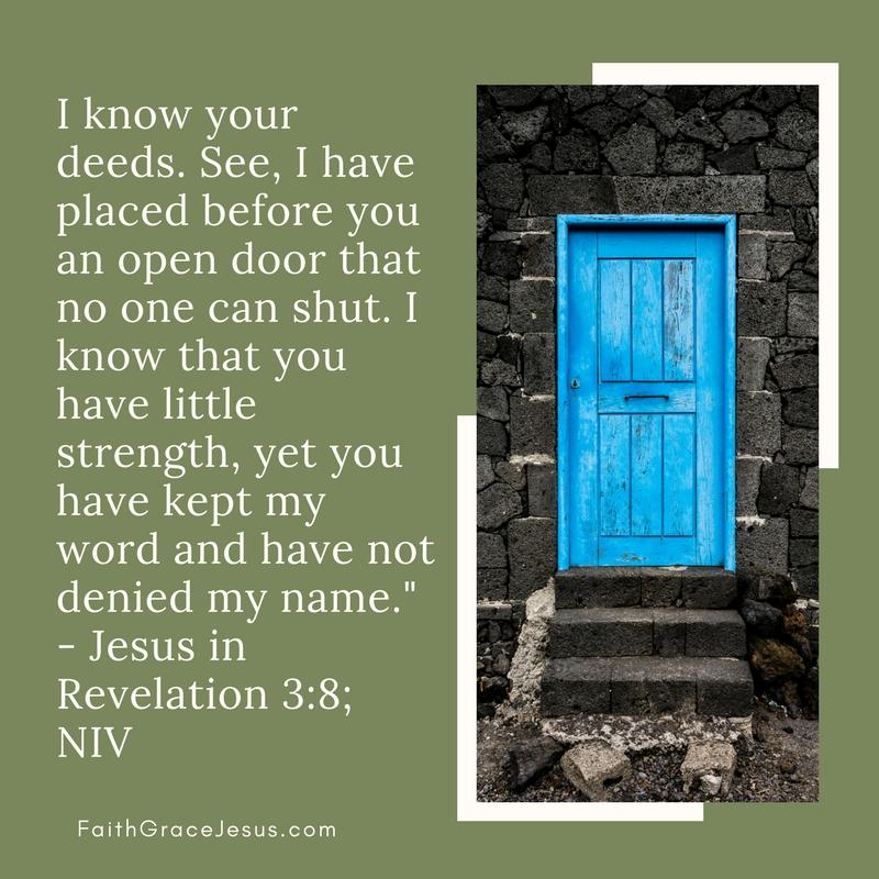 Revelation 3:8
