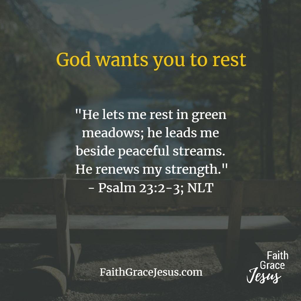 Psalm 23:2-3