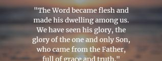 John 1:14 - Jesus is full of grace and truth