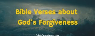 Bible Verses about God's Forgiveness
