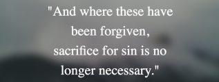 Hebrews 10:18