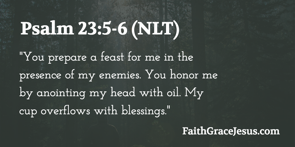 Psalm 23:5-6 - A Table in the Presence of my Enemies