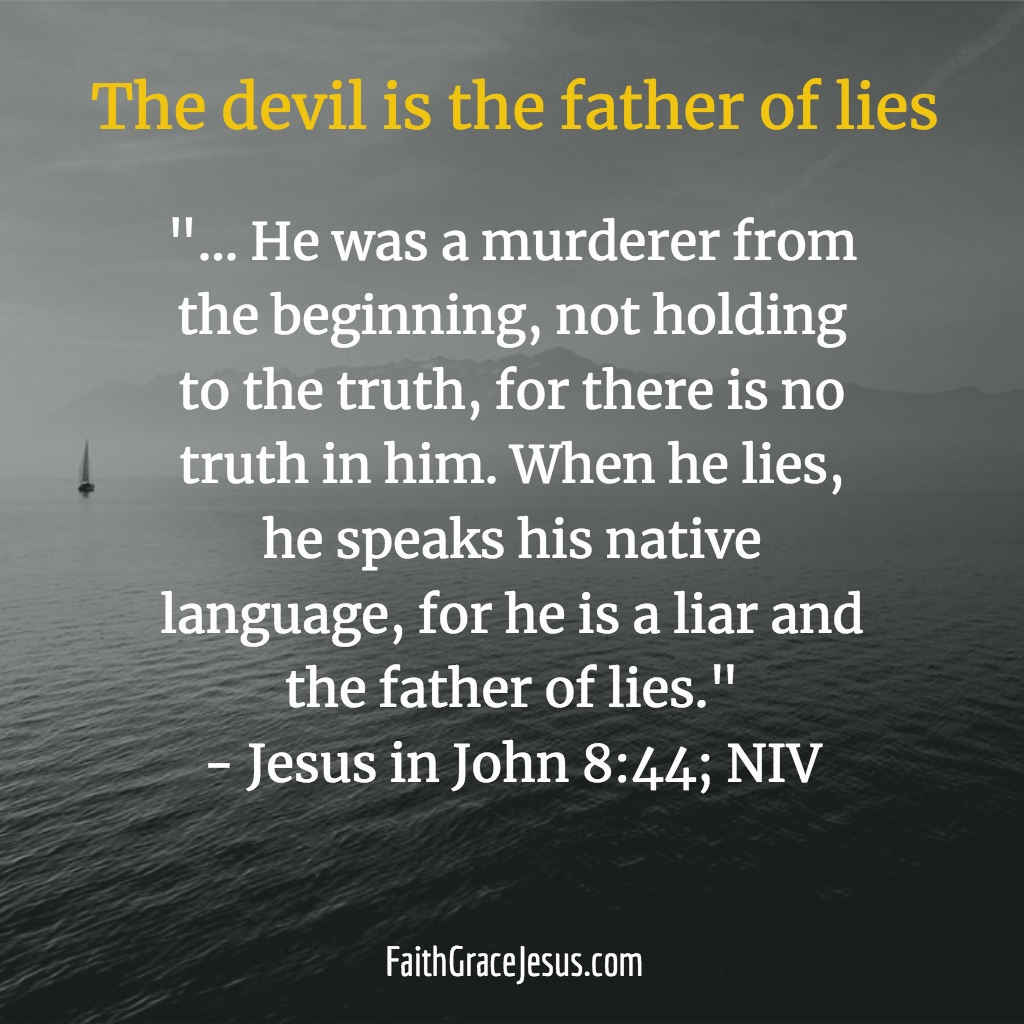 devil the faither of lies