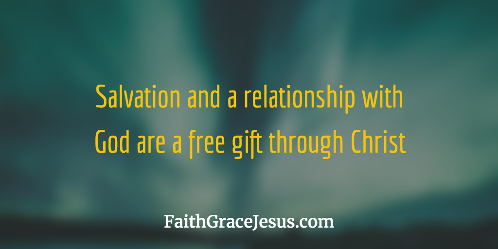 Salvation and relatioship with God