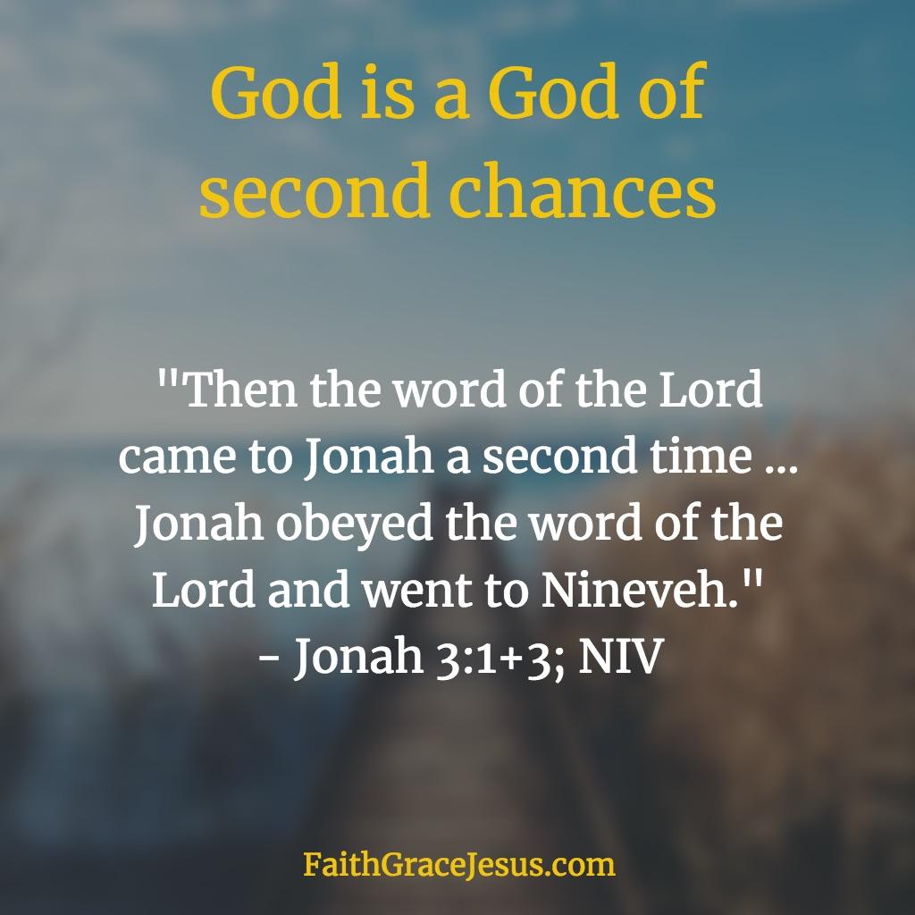 Jonah 3:1, 3 (NIV)