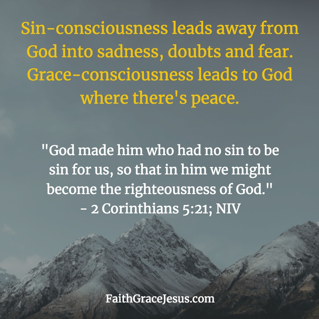 2 Corinthians 5:21 (NIV)
