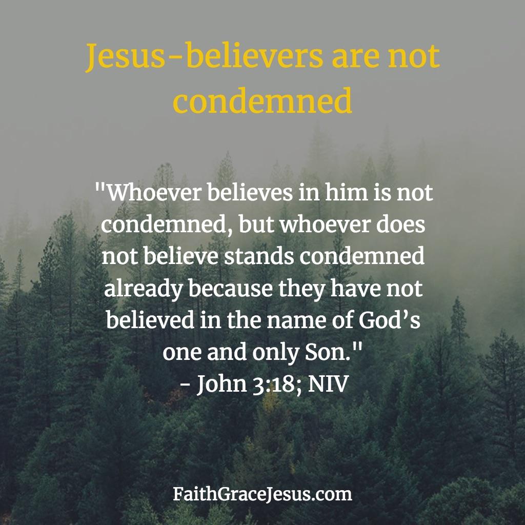 John 3:18 (NIV)