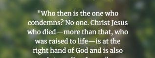 Romans 8:34 (NIV)