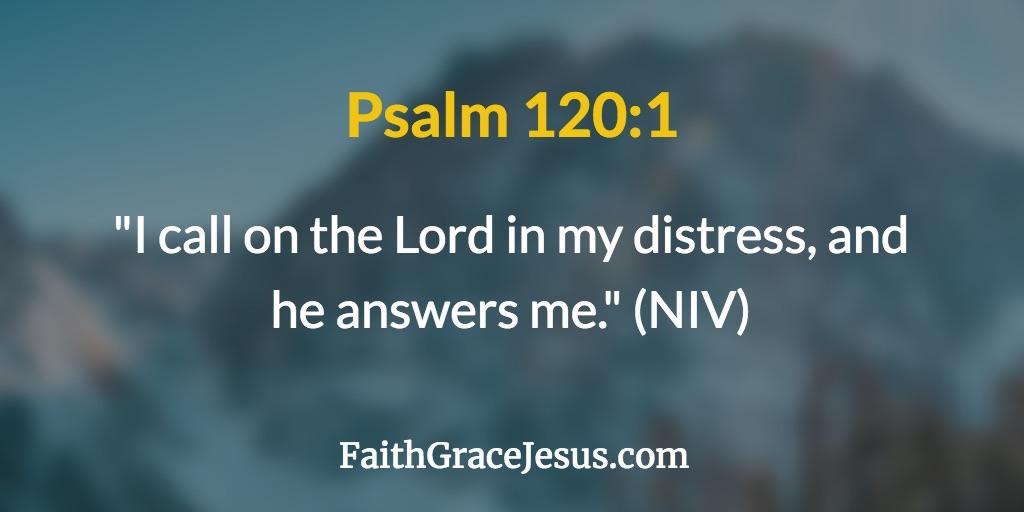 Psalm 120:1 (NIV)