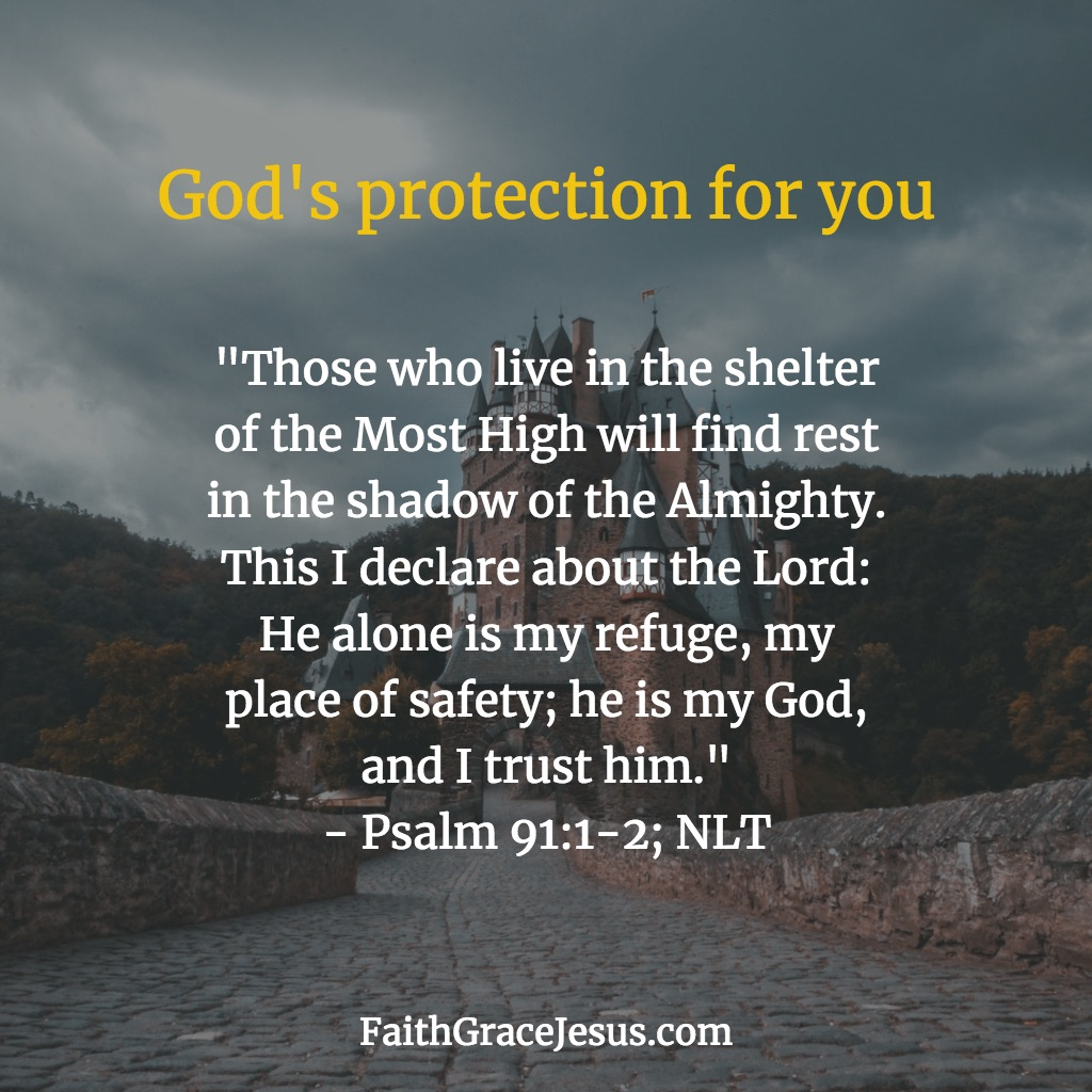 Psalm 91:1-2 (NLT)