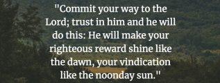 Psalm 37:5-6 (NIV)