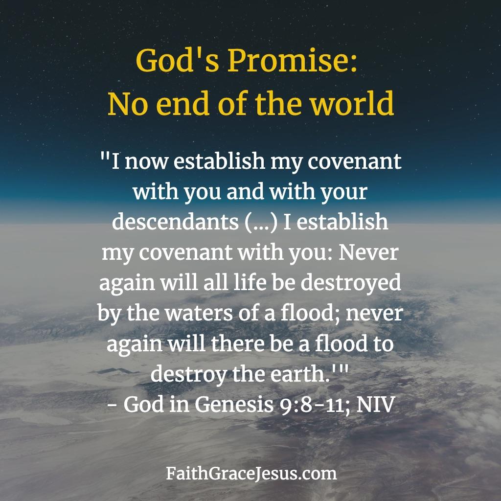 Genesis 9:8-11 (NIV)