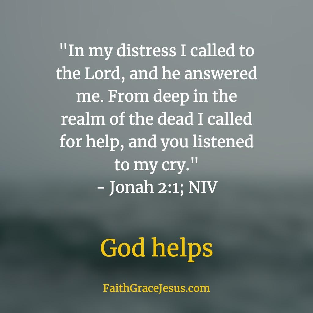 Jonah 2:1 (NIV)