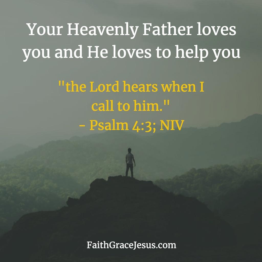 Psalm 4:3 (NIV)
