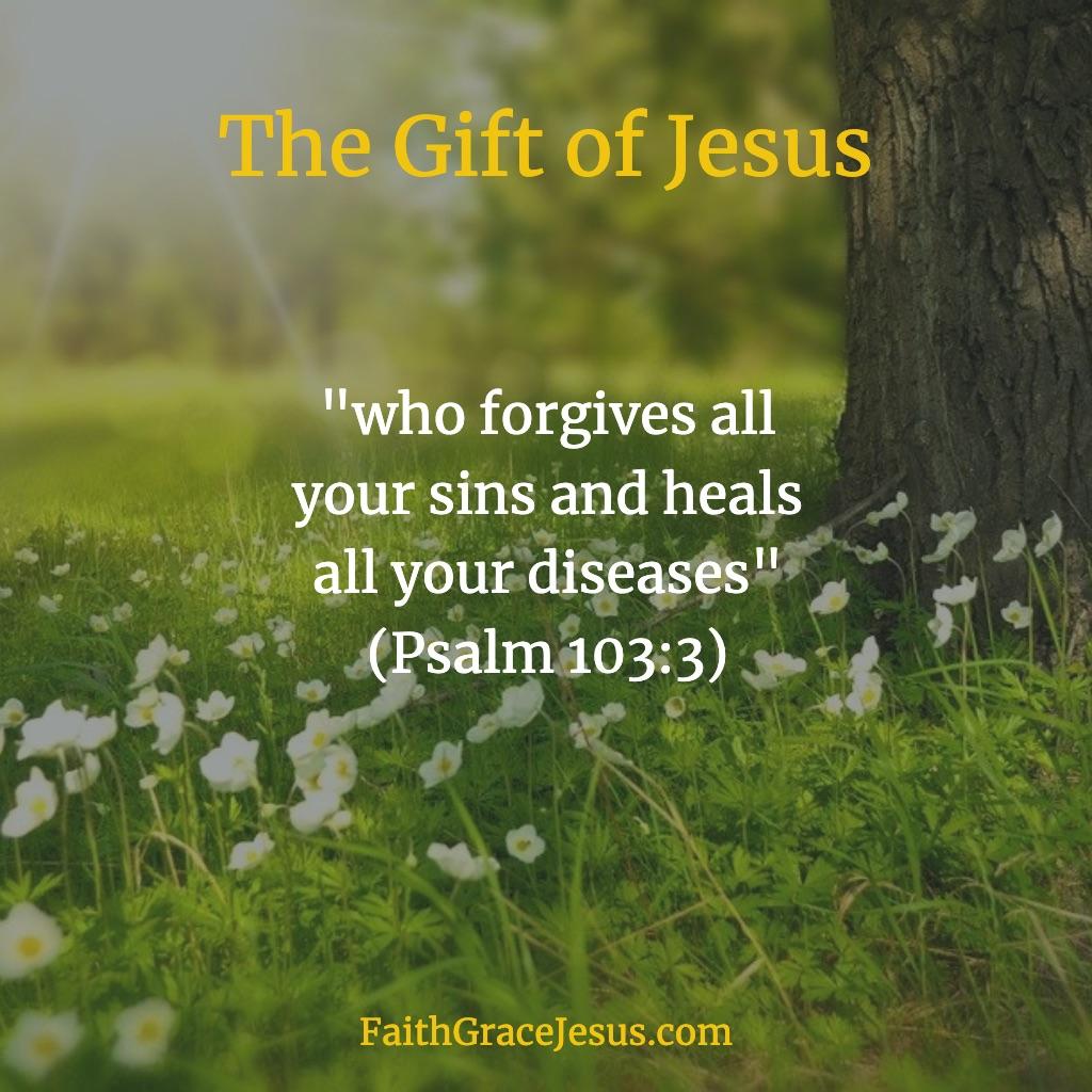 Psalm 103:3 (NIV)